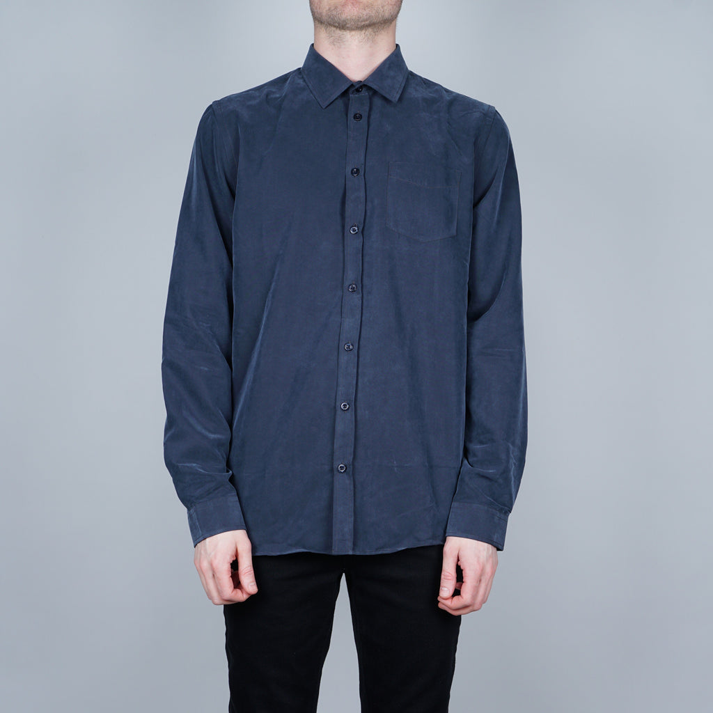 Libertine-Libertine Lynch Shirt - Dark blue