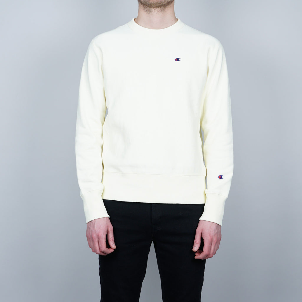 Champion Crewneck Sweater - Yellow