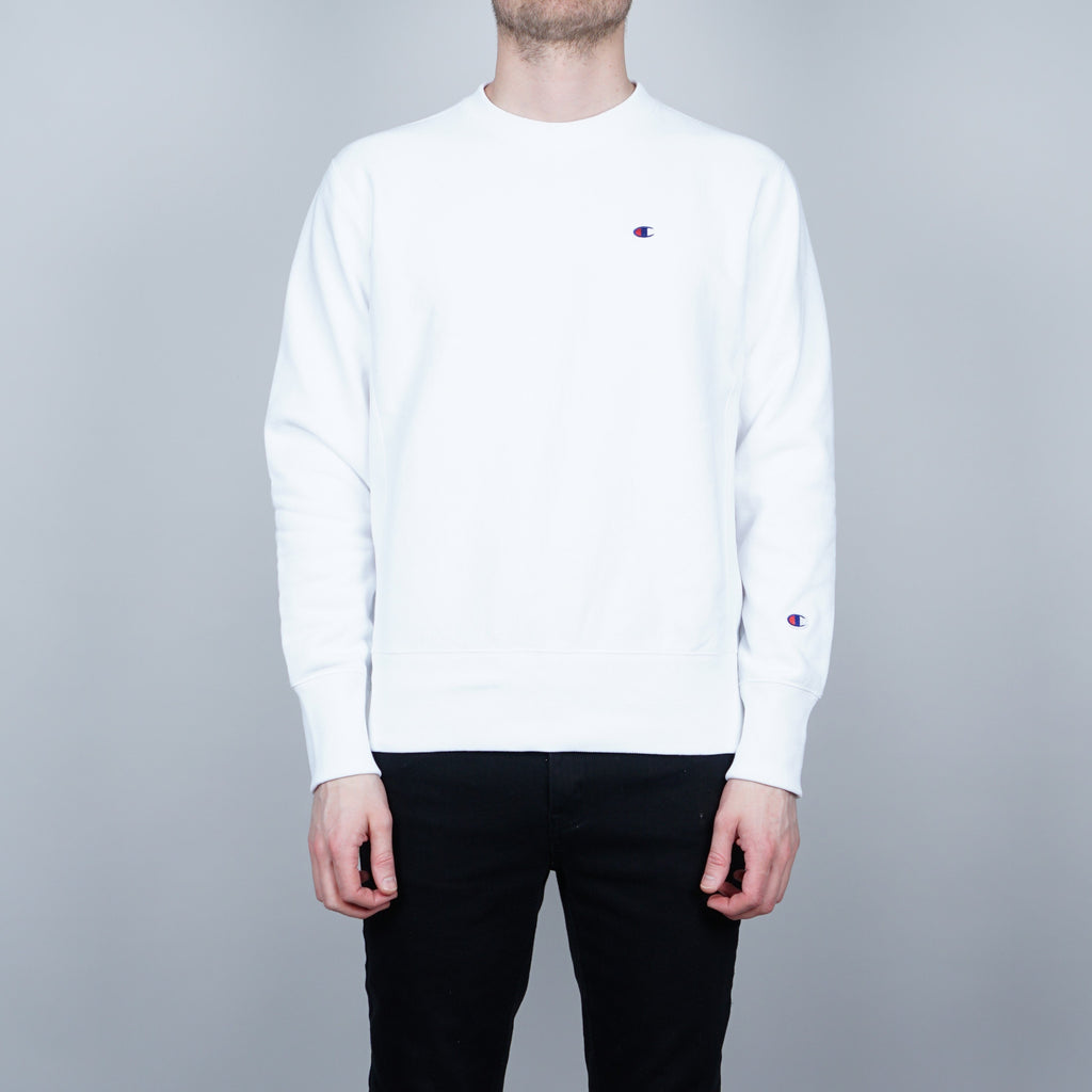 Champion Crewneck Sweater - White