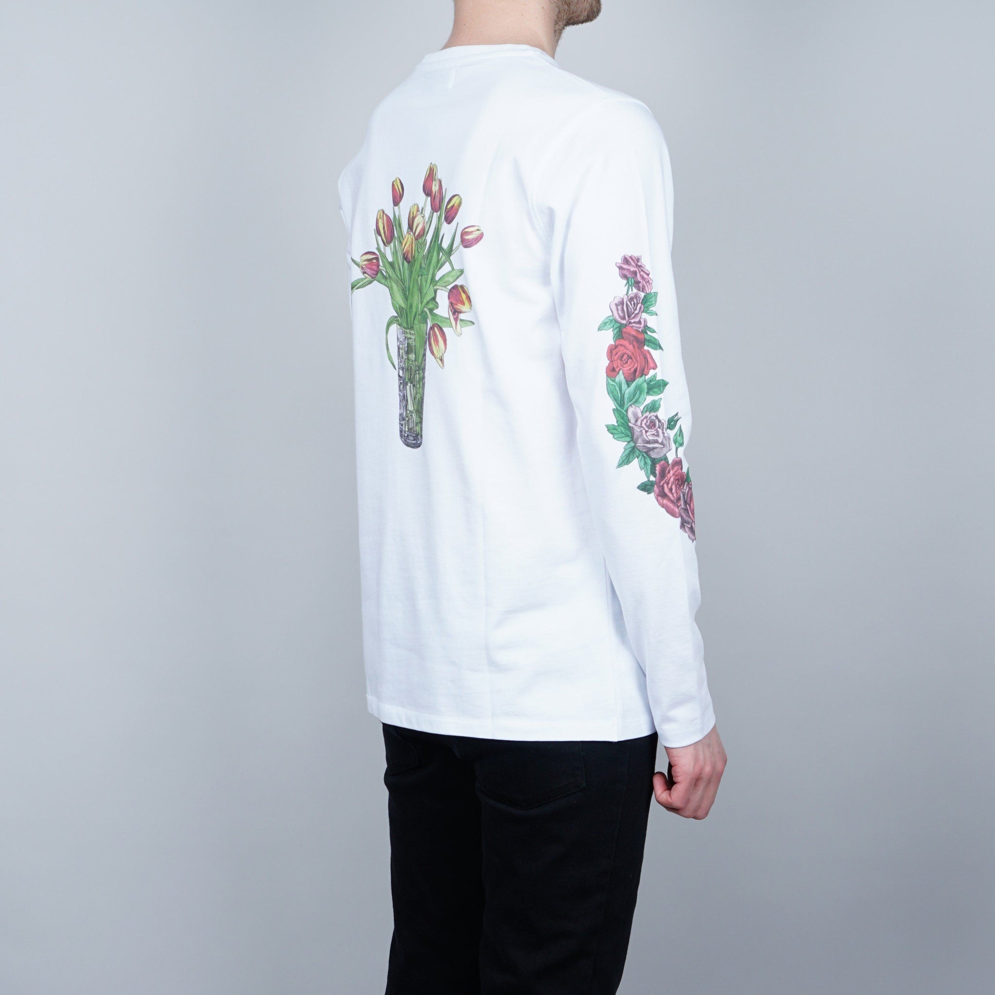 Soulland Vinton longsleeve - White with print