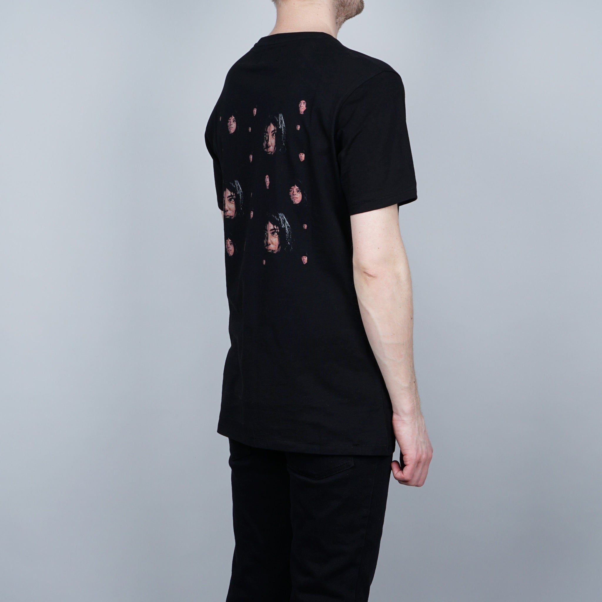 Soulland Frenchy T-shirt - Black with print