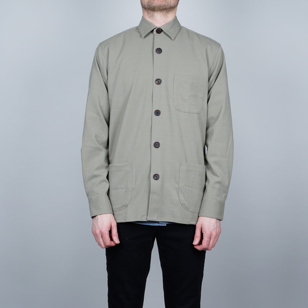 Schnayderman's Textured overshirt - Green
