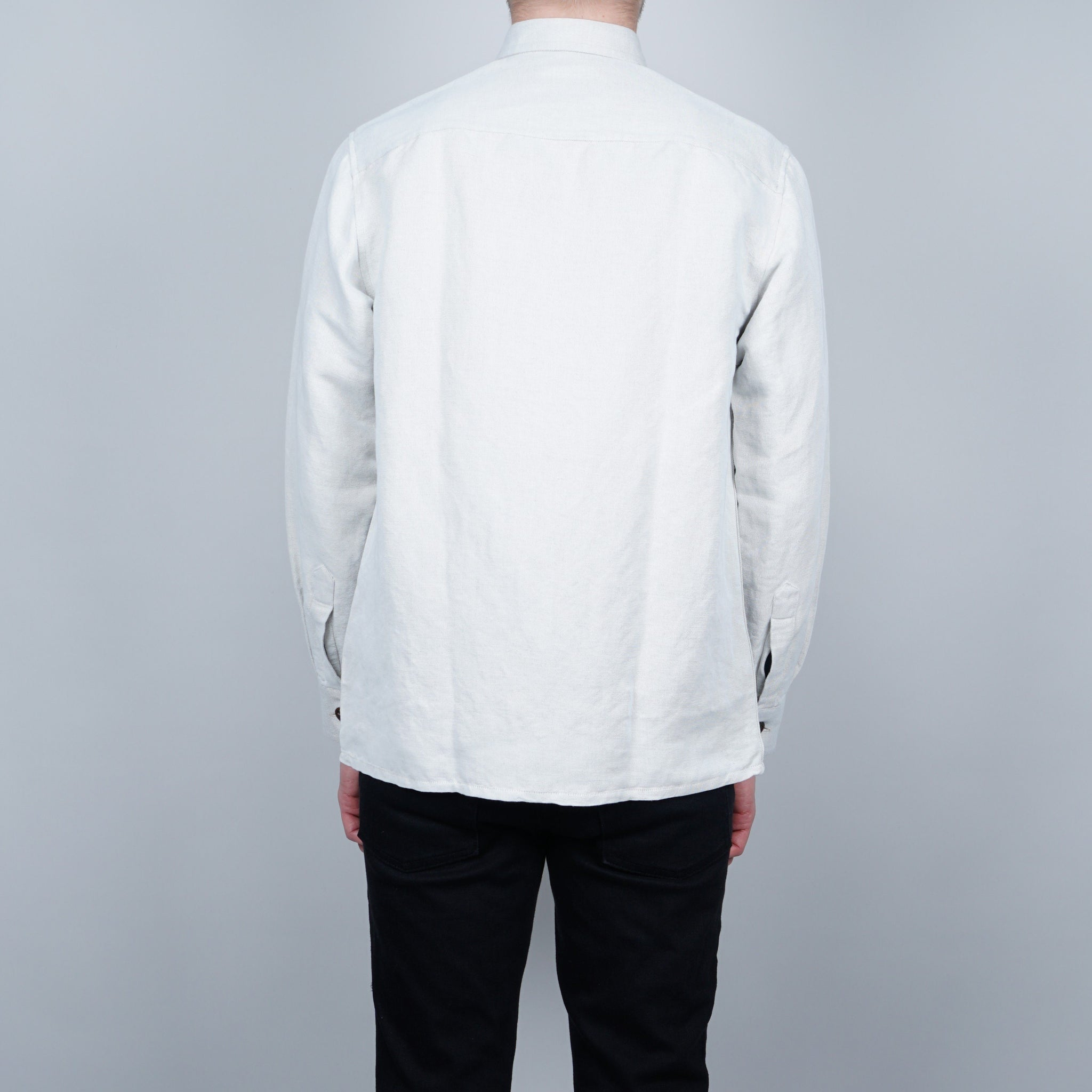 Schnayderman's Linen Mix One overshirt - White