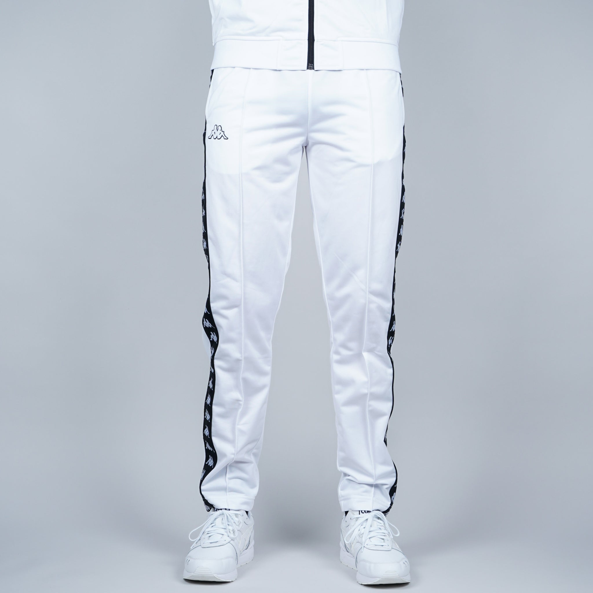 Kappa Astoria Snap Trouser - White / black