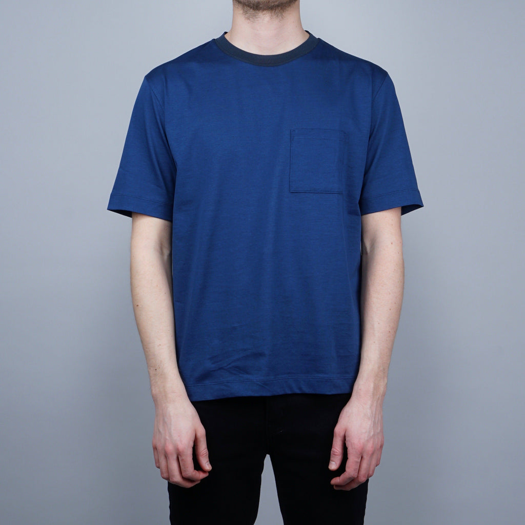 Still by Hand Ringer T-shirt - Blue