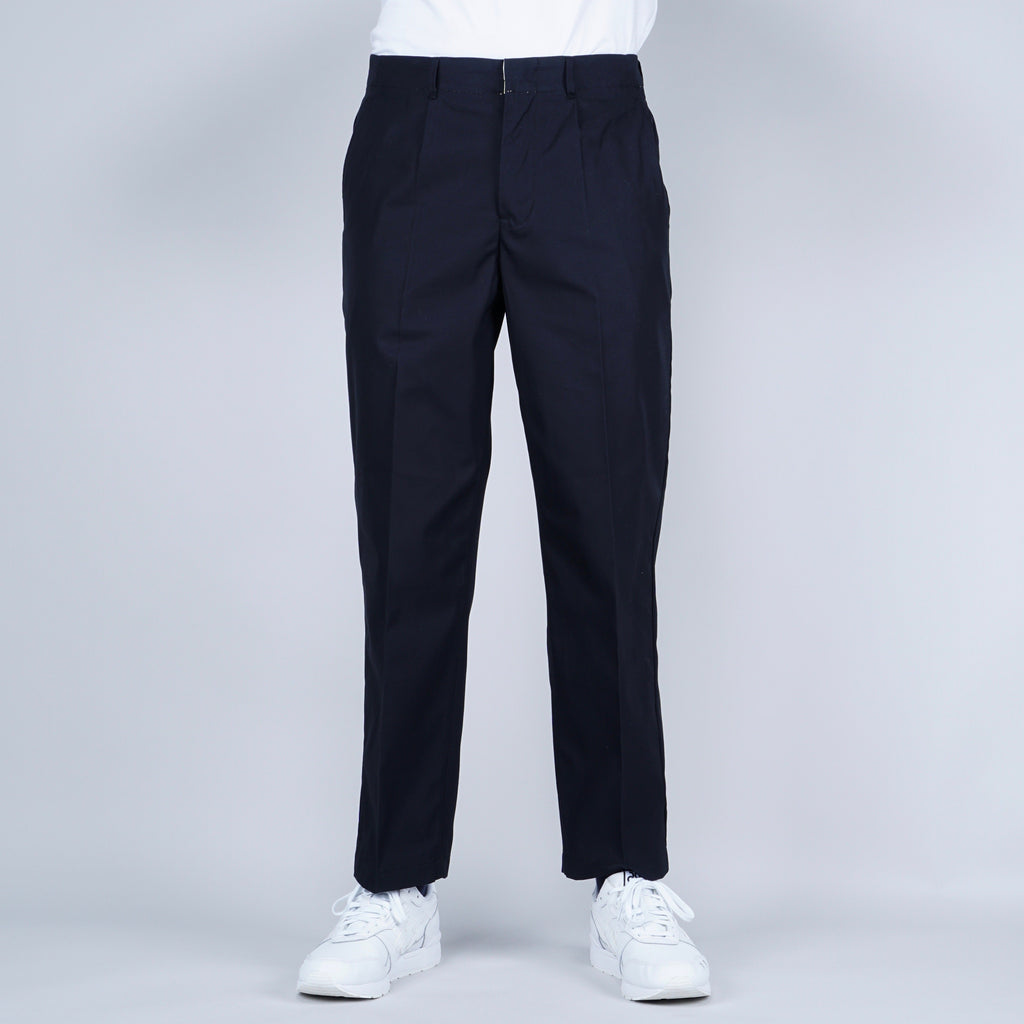Still by Hand Chino Trouser - Navy