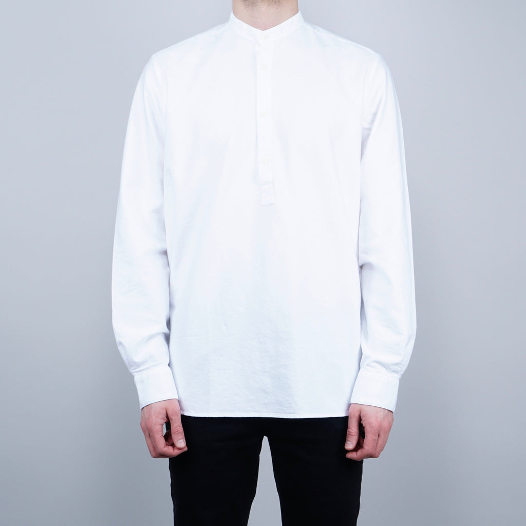Livid Jeans Compton Oxford pop-over Shirt - White