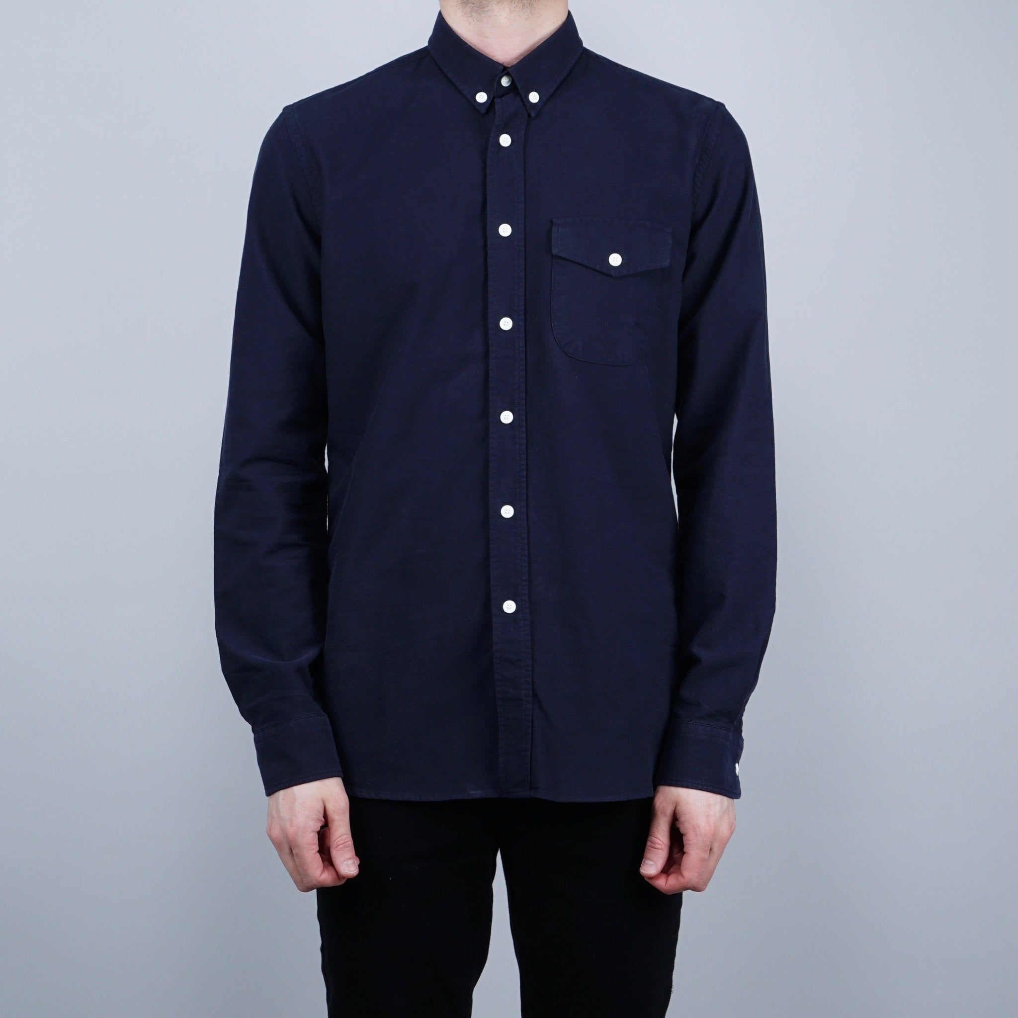Livid Jeans Cassidy Oxford Shirt - Navy