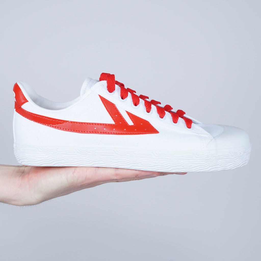 Warrior WOS33 sneaker - White / red