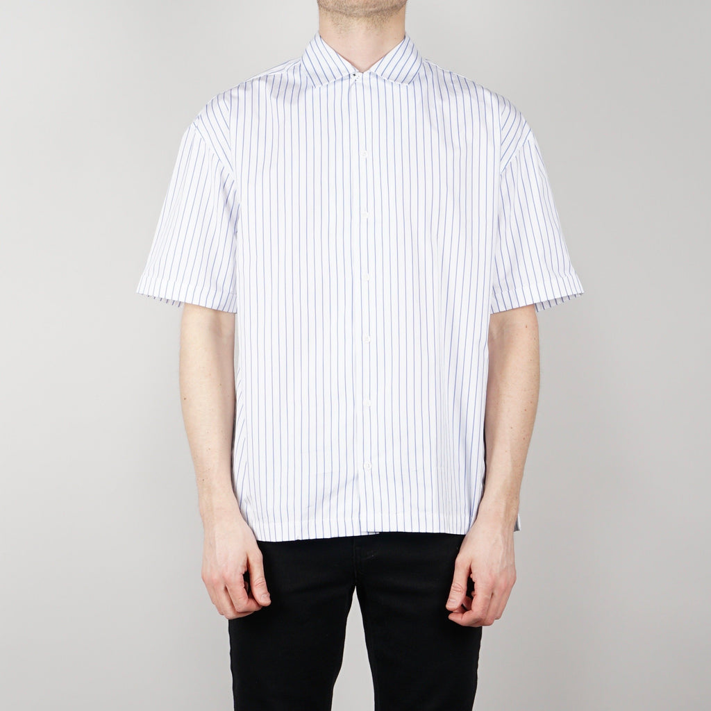 Coltesse Zea short sleeve shirt - White / blue
