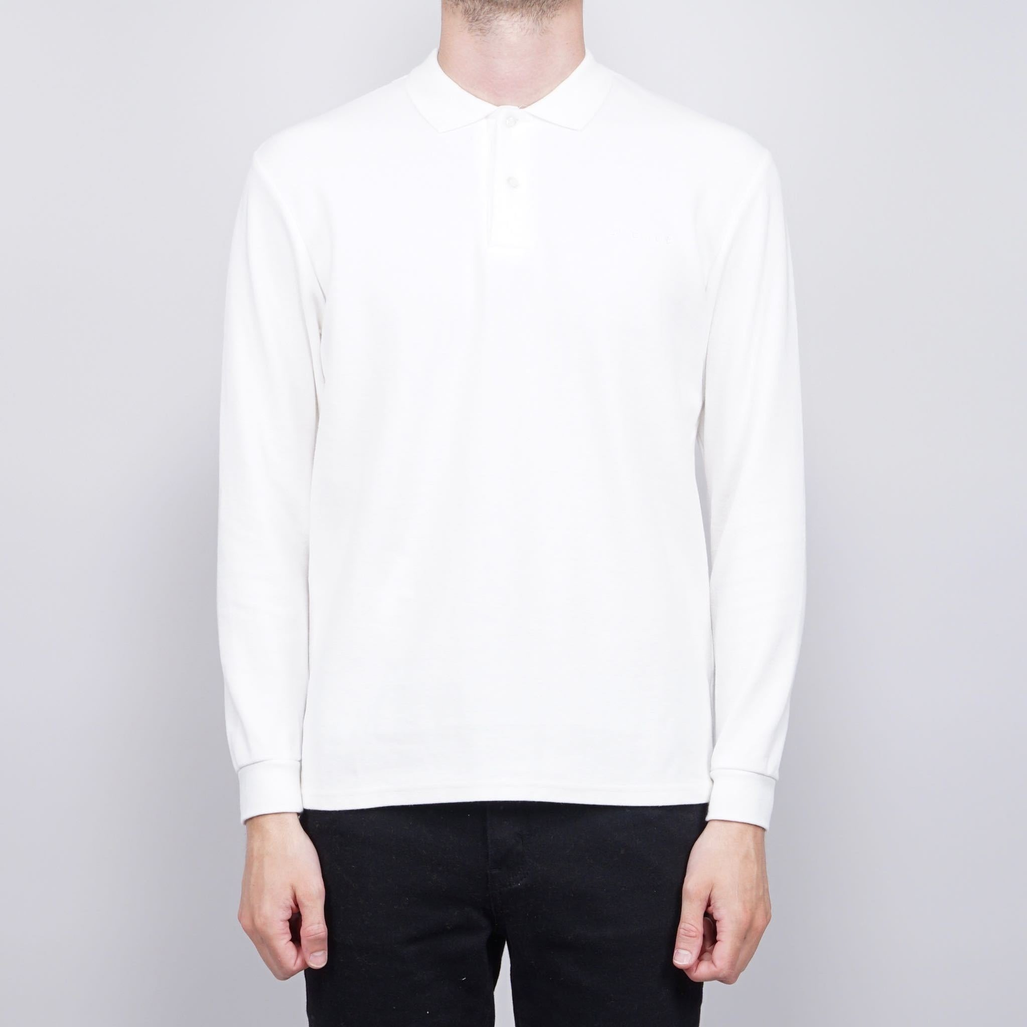 Avenue Cotton Tree Drive piquet shirt - White