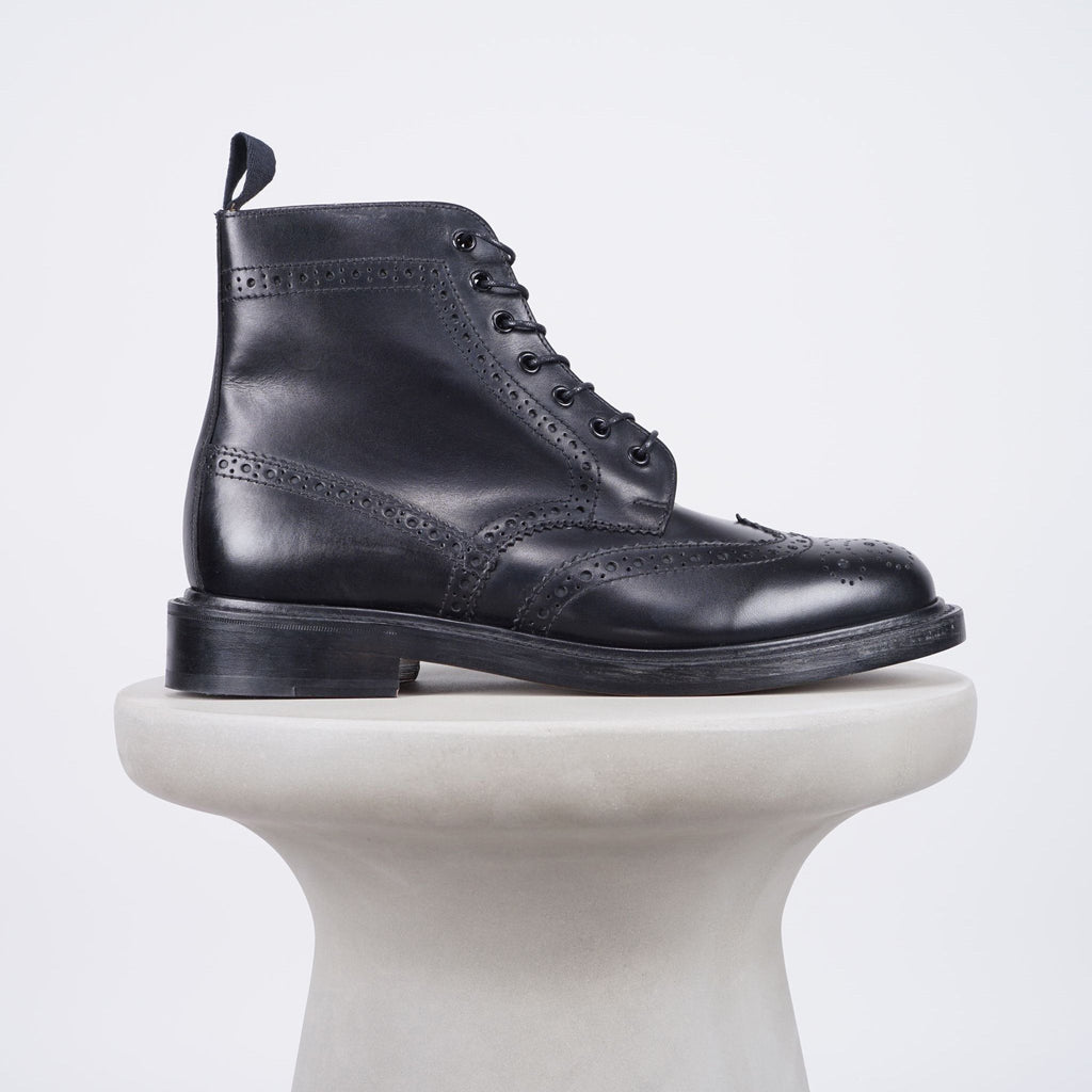 Sanders Aintree Derby boots - Black