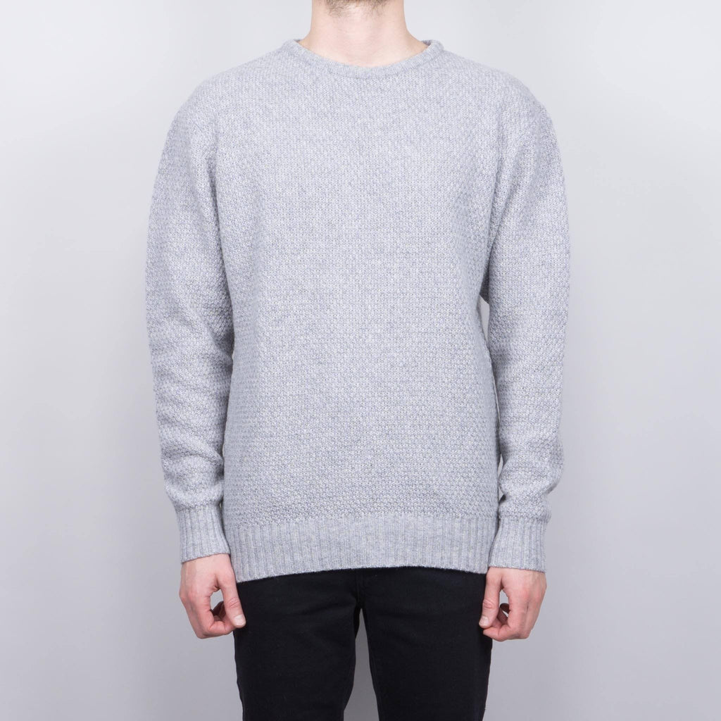 Soulland Ricketts Knitted Sweater - Gray