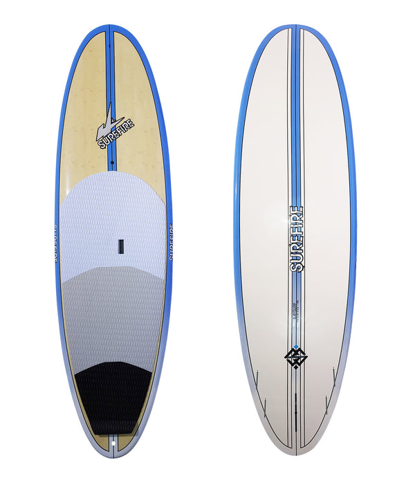 Baysurf Blue Rails Package Deal - Surefire Boards