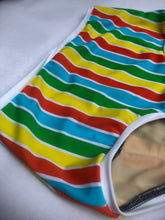 S/M RTS Hearts Sitting High Bathing Suit Bottoms