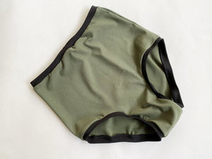 High Waist EveryDay Underwear with Black Bands