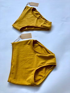 Gold Hemp High Waist EveryDay Underwear