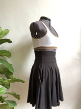 Black High Waist Pocket Skirt