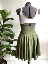 Sage High Waist Pocket Skirt