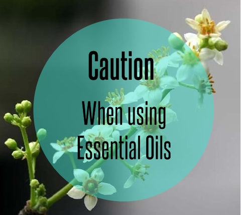 Caution Essential Oils