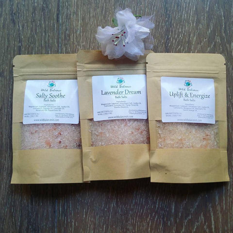 Therapeutic Bath Salts Samplers