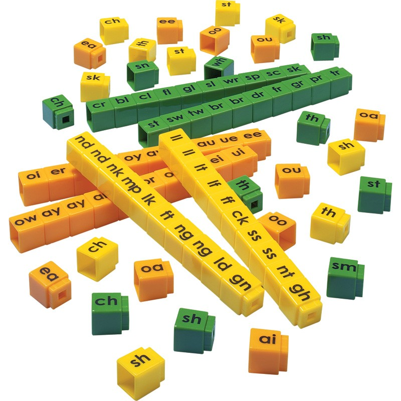 Unifix Letter Cubes Blends Set