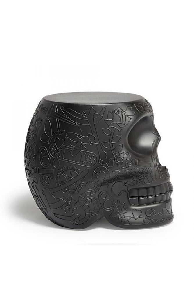 MEXICO STOOL BLACK QEEBOO