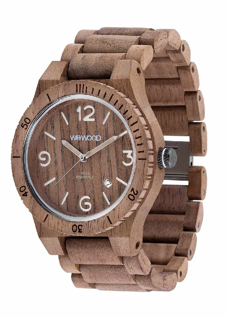 OROLOGIO WEWOOD ALPHA SW NUT ROUGH