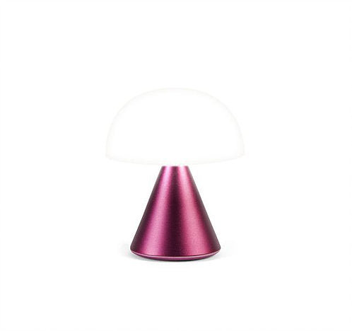 LEXON MINA LAMPADA LED ART LH60MDR BORDEAUX