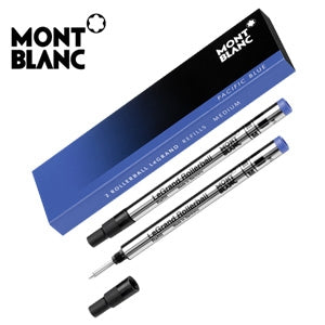 REFILL MONTBLANC ROLLERBALL LE GRAND M BLU SET 2 PZ
