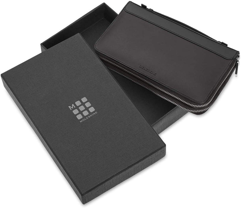 PORTADOCUMENTI MOLESKINE CLASSIC LEATHER ART ET84WCHBK