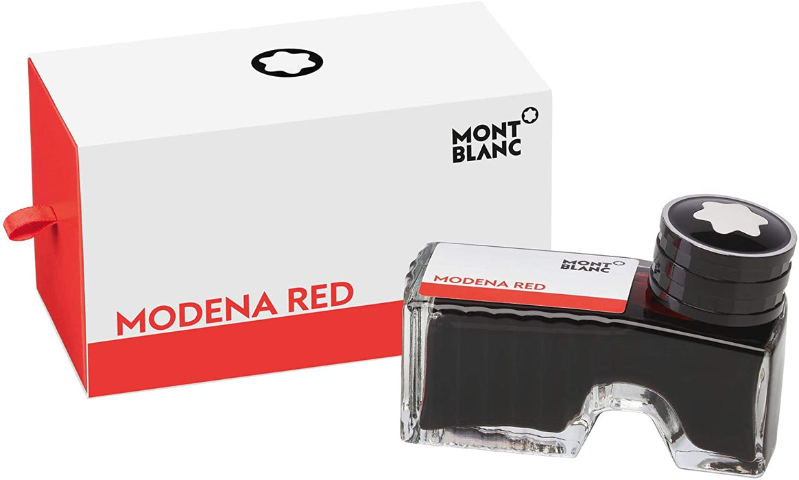 BOCCETTA INCHIOSTRO MONTBLANC MYSTERY BLACK  60 ML MODENA RED