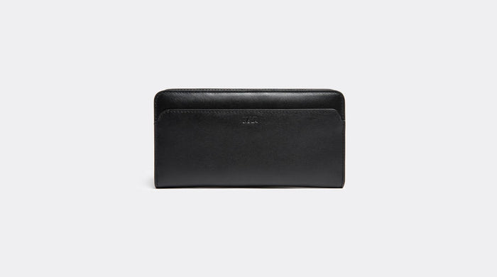 NAVA MILANO VERTICAL LONG WALLET BLACK