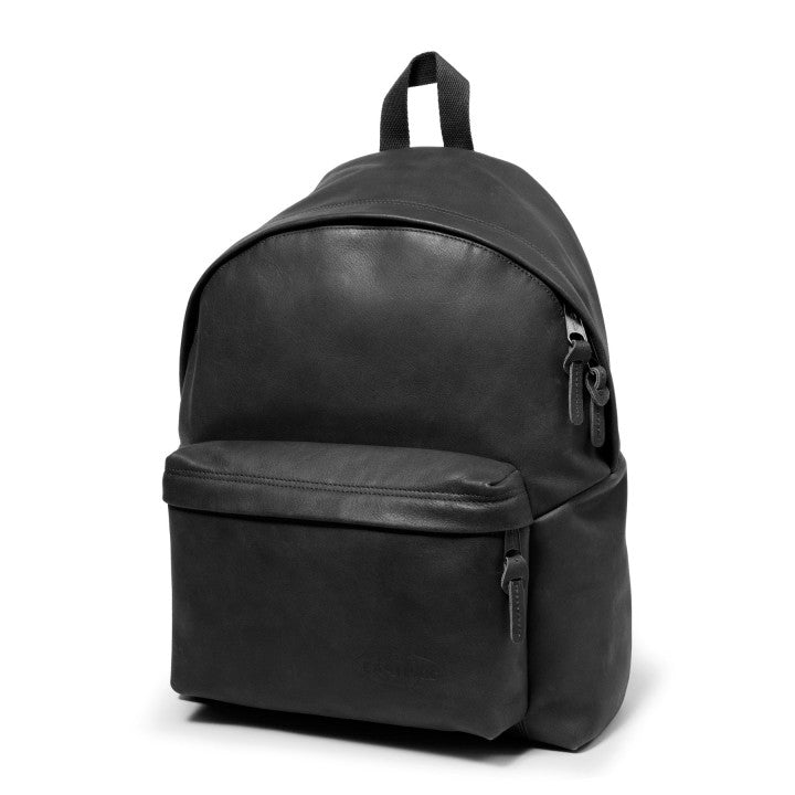 ZAINO PADDED PELLE BLACK INK LEATH EASTPAK