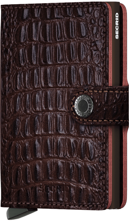 MINIWALLET SECRID NILE BROWN