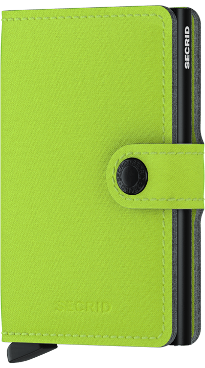 MINIWALLET SECRID YARD LIME
