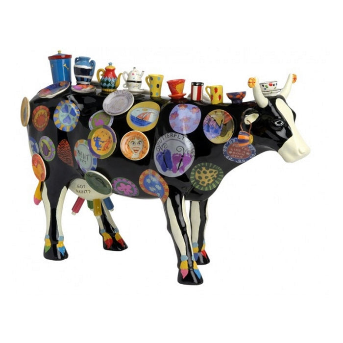 COW PARADE MEDIUMH 115 MM X 180 MM RESINA MOO POTTER 46368