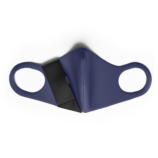 ACTIVE MASK BANALE L NAVY BLUE