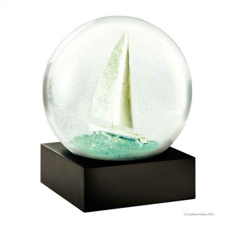 COOL SNOW GLOBE SAILBOAT CS220