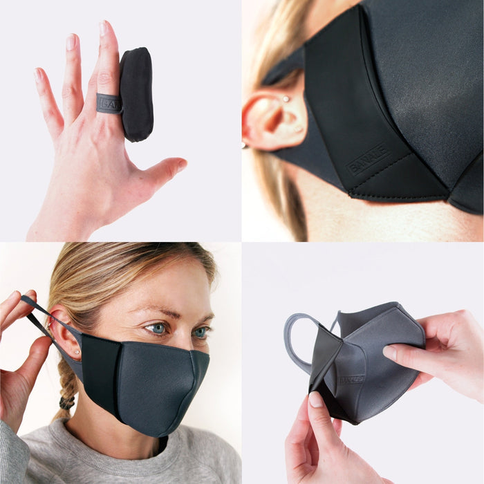 ACTIVE MASK BANALE LIGHT GREY L
