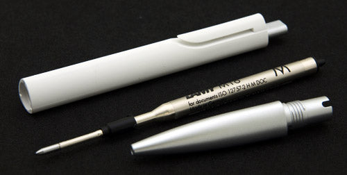 SFERA BALL POINT LAMY NOTO WHITE SILVER M M16