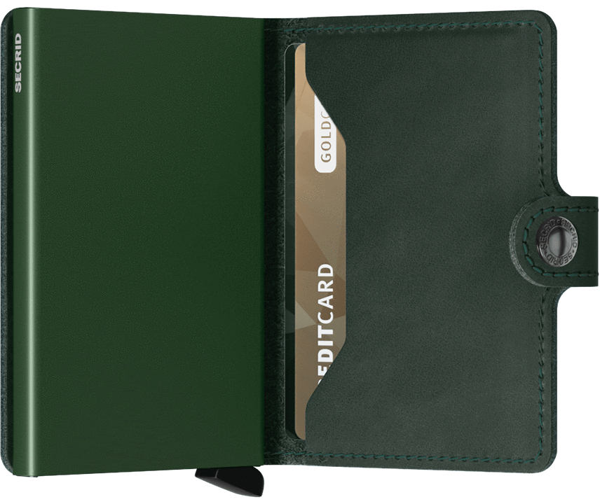 MINIWALLET SECRID ORIGINAL GREEN