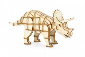 3D WOODEN PUZZLE KIKKERLAND TRICERATOPS