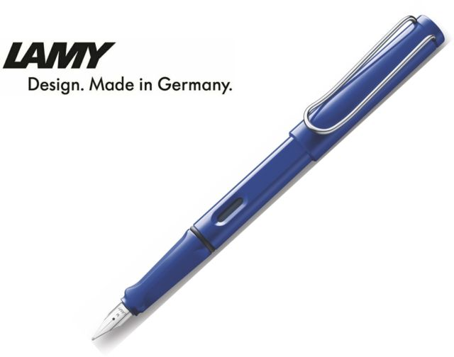 PENNA STILOGRAFICA LAMY SAFARI BLUE M