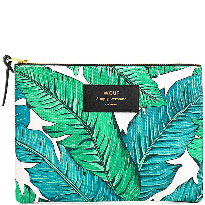 WOUF TROPICAL LARGE POUCH ART ML170001