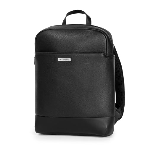 ZAINO MOLESKINE MATCH CLASSIC LTH BACKPACK SLIM NERO
