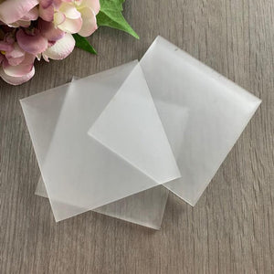 Frosted Acrylic Blank Place Name Square - Wedding Lux