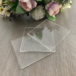 Acrylic Blank Place Names Square - Wedding Lux