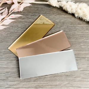 Mirror Acrylic Blank Rectangle