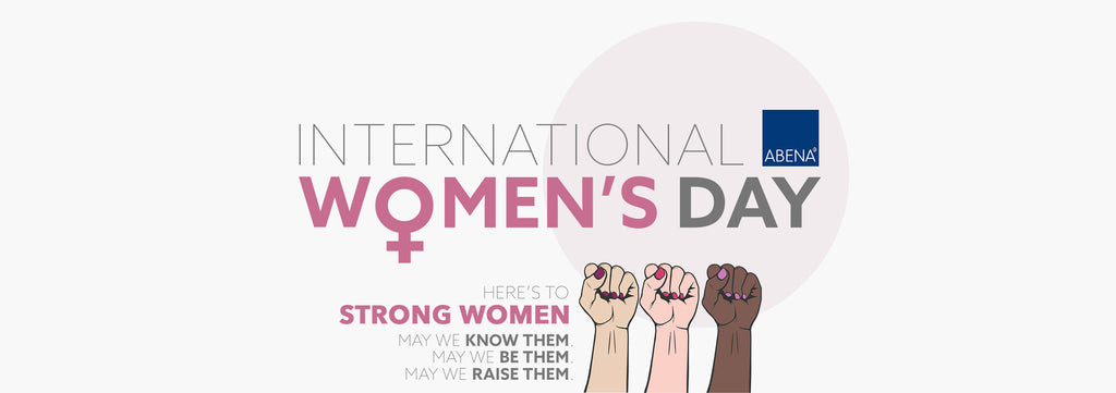 International Women's Day. Here's to strong women, may we know them, may we be them, may we raise them.